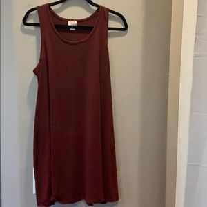 Mossimo Red Tunic